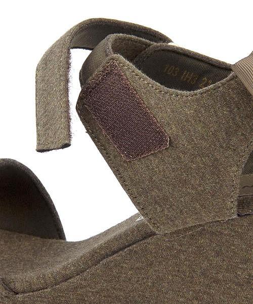 サンダル 太ヒール 歩きやすい アンクルストラップ 疲れない 女の子 キッズ 子供靴 運動靴 通学靴 バックリボン クッション性 美脚 カジュアル デイリー スクール ビーシーカンパニーミニ B.C.COMPANY mini 103 カーキ