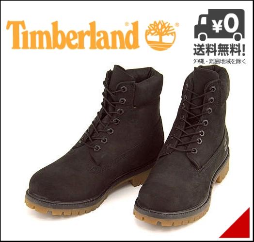 ティンバーランド 6インチ プレミアム ブーツ メンズ 防水 雨 雪 靴 カジュアル デイリー アウトドア ストリート 6inch PREMIUM BOOT Timberland BOOTA114V ブラックヌバック