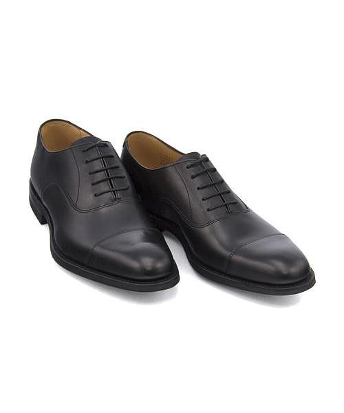 ビジネスシューズ メンズ ストレートチップ アーチウェイ クッション性 G カジュアル デイリー オフィス フォーマル ドレス 冠婚葬祭 就活 ARCHWAY ロークシューメーカーズ Loake Shoemakers IMLK1012 ブラック