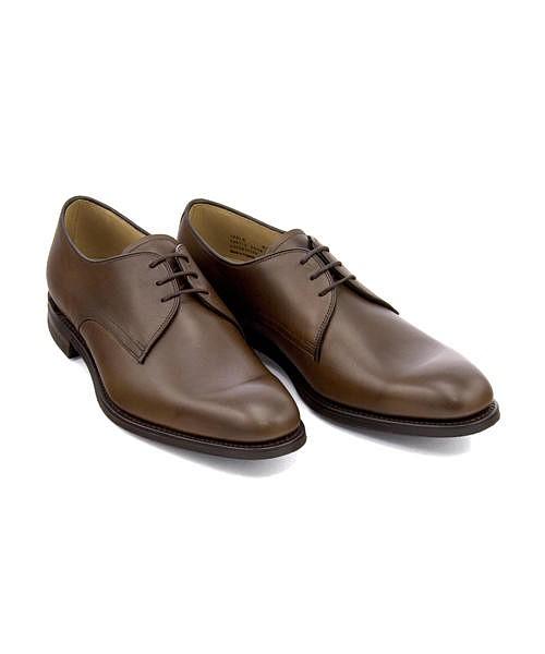 ビジネスシューズ メンズ プレーントゥ ゲーブル クッション性 G カジュアル デイリー オフィス フォーマル ドレス 冠婚葬祭 就活 GABLE ロークシューメーカーズ Loake Shoemakers IMLK1024 ダークブラウン