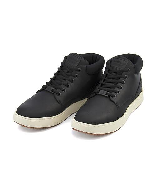 ティンバーランド ハイカット スニーカー ブーツ メンズ シティロームカップソールチャッカ クッション性 耐久性 抗菌 防臭 ワイド カジュアル デイリー トラベル ウォーキング CITYROAM CUPSOLE CHUKKA Timberland A1S5N ブラック