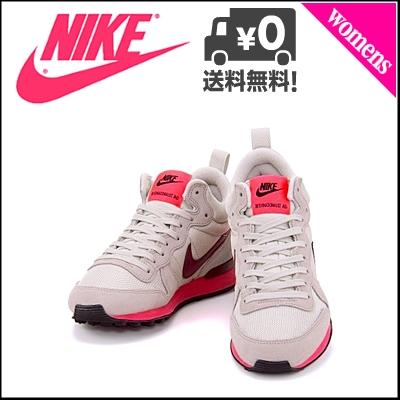 耐克国际主义者女士跑步鞋运动鞋MID NIKE WMNS INTERNATIONALIST MID 683967媒介全部木材棕色/组红/灯博恩/超级打击