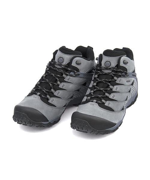メレル ハイカット スニーカー メンズ カメレオン 7 ミッド ゴアテックス クッション性 耐久性 防水 雨 雪 靴 カジュアル デイリー トラベル スポーツ ウォーキング アウトドア CHAMELEON 7 MID GORE-TEX MERRELL J98277 キャッスルロック