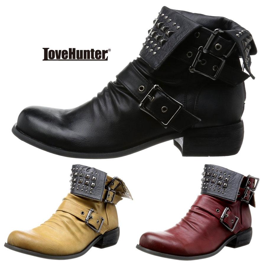 スタッズドレープブーツ メンズ 靴 エンジニアブーツ LOVE HUNTER 6999 SD3548328【MS】【Y_KO】【csv160405】【P10】 【ren】