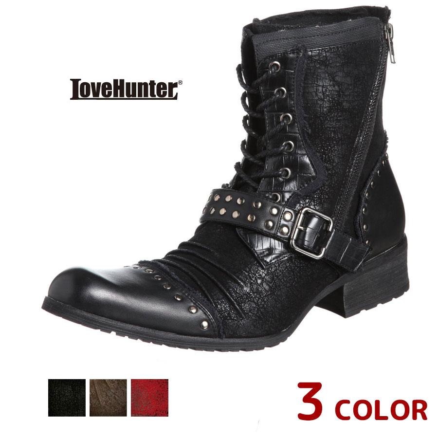 ワークブーツ エンジニアブーツ エンジニアブーツ メンズ 靴 お兄系 ワークブーツ LOVE HUNTER LOVE 6996 SD3549764【MS】【Y_KO】【csv160405】【P10】【ren】, インテリアプランツナトゥーラ:9528b57c --- gallery-rugdoll.com
