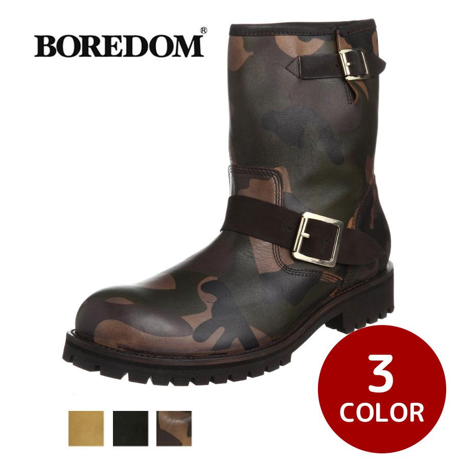 本革エンジニアブーツ メンズ 靴 カジュアルブーツ BOREDOM ボアダム 0111 SD3552335【MS】【Y_KO】【csv160405】【P10】 【ren】