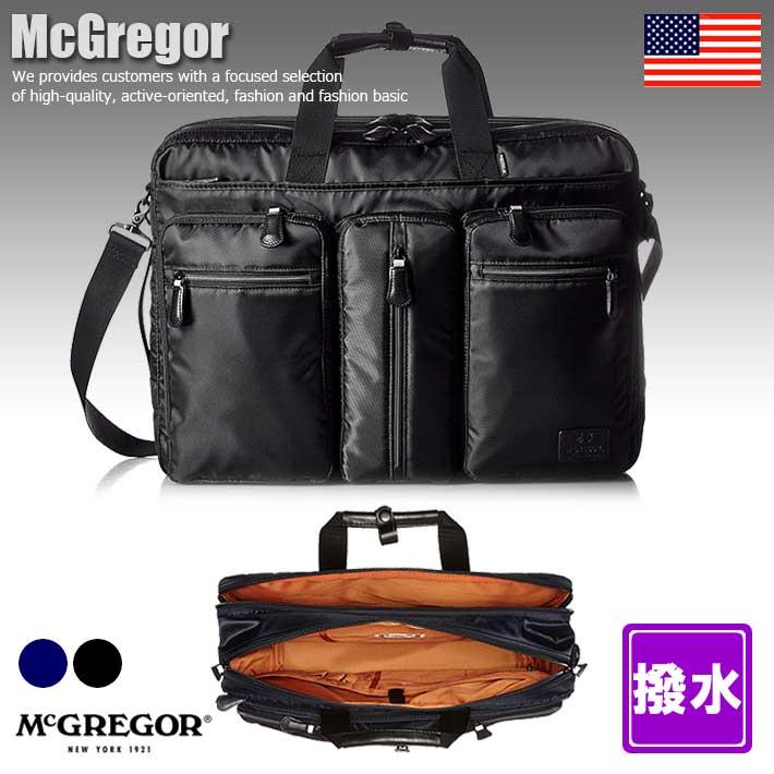 マックレガー McGregor ショルダーバッグ 軽量 撥水 2WAY ビジネスバッグ バッグ メンズ 21702 SD4831448 【Y_YI】■180117