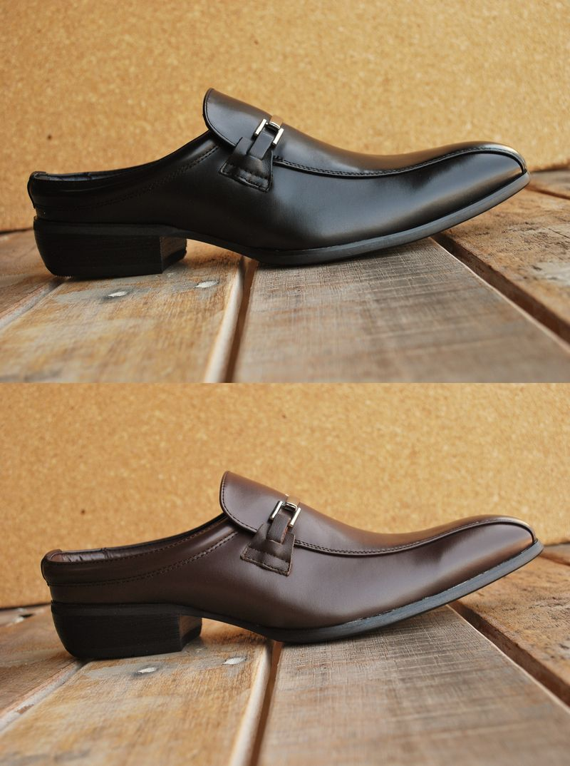 ビジネスサンダル ビジネスシューズ カジュアルシューズ メンズ 靴 6820 Y KO ロングノーズ 就活 フレッシャーズ FAKE レザー 大きいサイズもあり 1212shY KO170701sren5R4L3qAj
