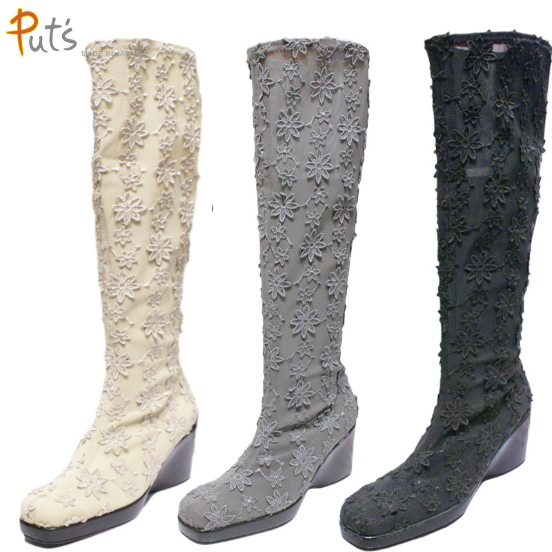 【送料無料】《Put's プッツ》4200 Put'sは足もとと人を美しくするレディースシューズ・ブランド思わずふりかえらせるすてきなブーツです