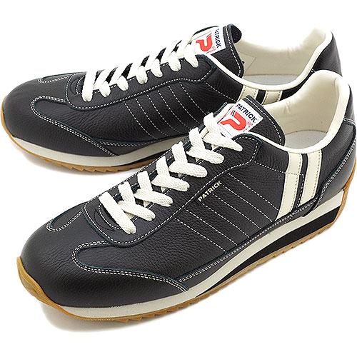 【即納】【返品送料無料】パトリック スニーカー マラソン-L 日本製 メンズ レディース PATRICK MARATHON-L ブラック スニーカ sneaker 98701【コンビニ受取対応商品】