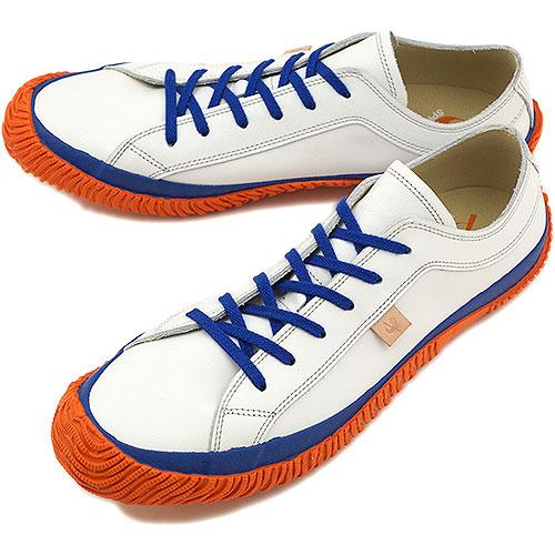 【即納】【返品送料無料】スピングルムーブ SPM-101 SPINGLE MOVE WHITE/ORANGE SPM101 スピングル ムーヴ 靴 【コンビニ受取対応商品】