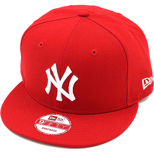 NEWERA new era Cap 9 FIFTY nine fifty New York Yankees Scarlet   white  (N0015575 11120809) (NEW ERA) 7ce6690fc3c