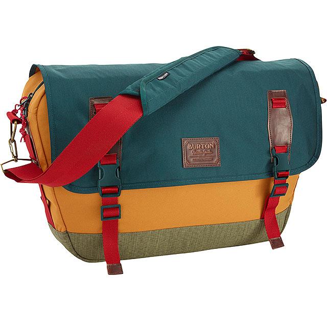 Burton Messenger Bag Shoulder Flint Sprce Trpl Rpstp
