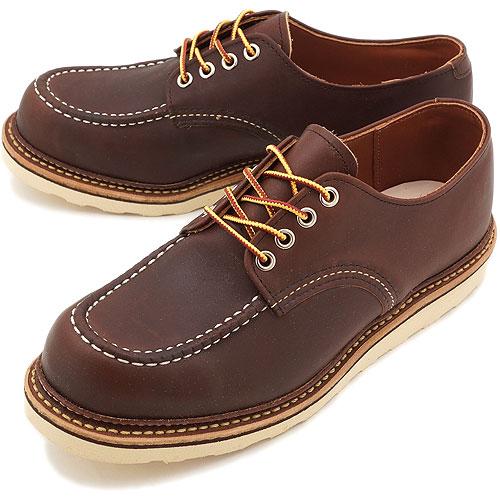 【返品サイズ交換可】レッドウィング ワーク オックスフォードシューズ ブーツ REDWING 8109 WORK OXFORD SHOES MAHOGANY ORO-IGINAL【コンビニ受取対応商品】