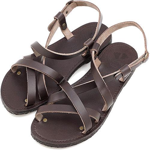 【在庫限り】duck feet/DUNSKE DN0050 ダックフィート/ダンスク サンダル 靴 チョコレート(DN0050-209)【ts】