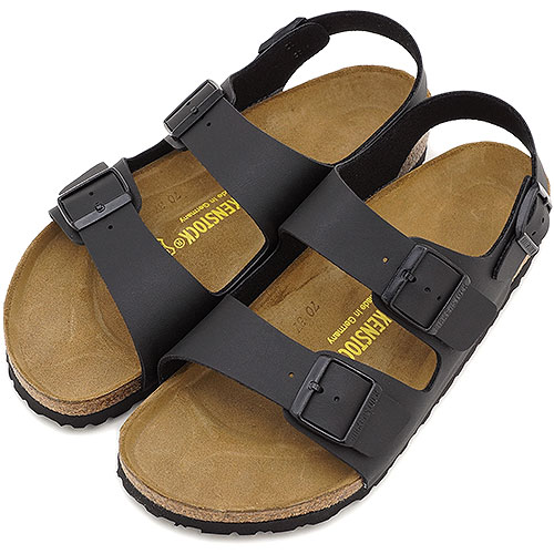 BIRKENSTOCK ビルケンシュトック レディース メンズ MILANO サンダル 靴 ミラノ BF Black 034791/034793(GC034791/GC034793) ビルケン・シュトック【コンビニ受取対応商品】