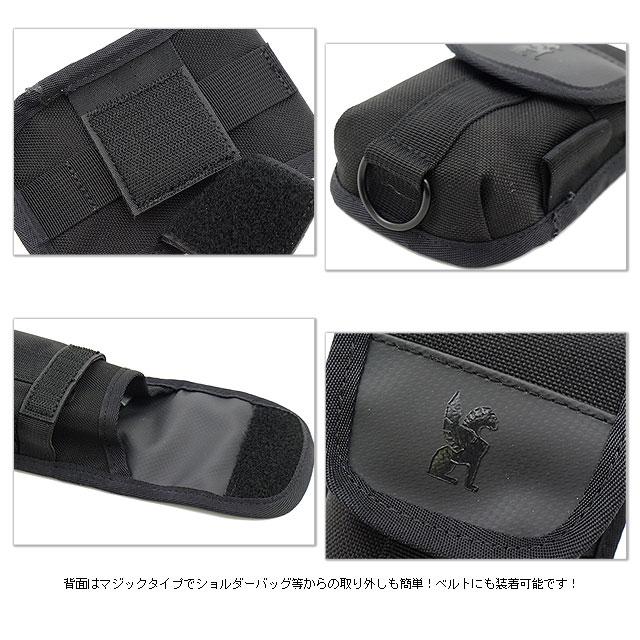 a98f01b1ce9 SHOETIME  CHROME chrome bag ACCESSORY POUCH accessories pouch BLACK ...