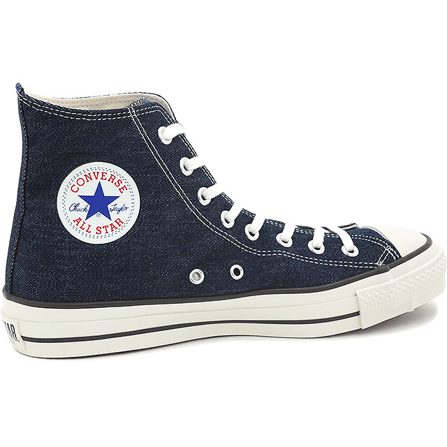 CONVERSE Converse sneakers ALL STAR J DENIM HI all-stars J denim HI indigo  Made in Japan (32068956 FW15) shoetime d2c3b0695f2ad