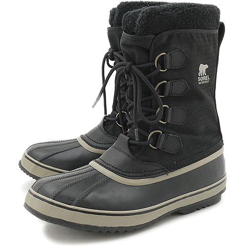 【即納】ソレル SOREL スノーブーツ メンズ 1964 PAC NYLON 1964 パック ナイロン BLACK NM1440-011 靴【コンビニ受取対応商品】