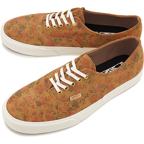 c98e694f432 VANS vans sneakers CALIFORNIA AUTHENTIC DECON CA California authentic ( FLORAL SUEDE) INDIAN TAN (VN-0L9ODXC FW14) shoetime