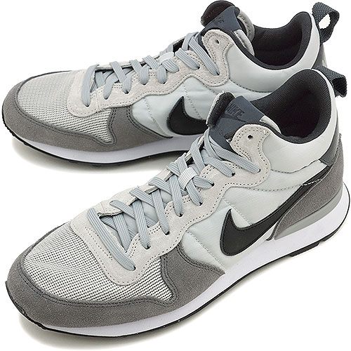 the best attitude c11a4 5bae9 NIKE Nike men sneakers INTERNATIONALIST MID internationalist mid light ash  grey   black   dark gray (682,844-002 HO14) shoetime