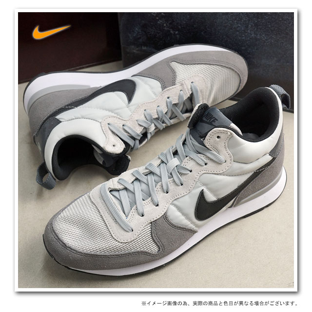 SHOETIME  NIKE Nike men sneakers INTERNATIONALIST MID internationalist mid  light ash grey   black   dark gray (682 2ebdbba8d