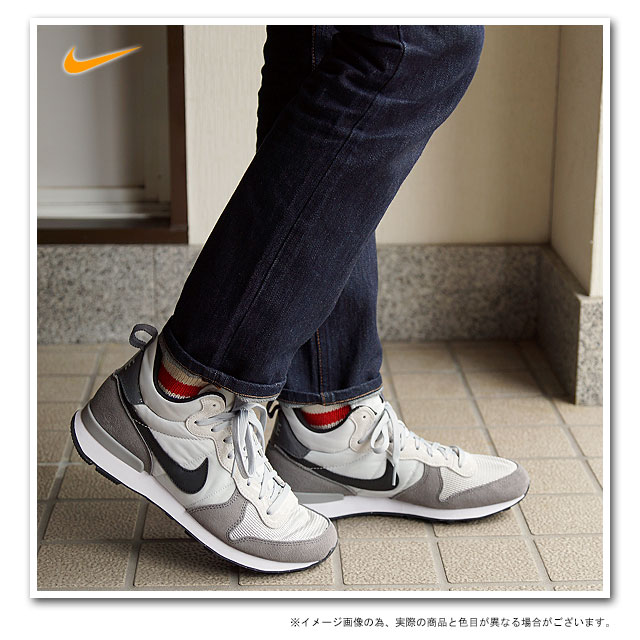 12553c66eead NIKE Nike men sneakers INTERNATIONALIST MID internationalist mid light ash  grey   black   dark gray (682