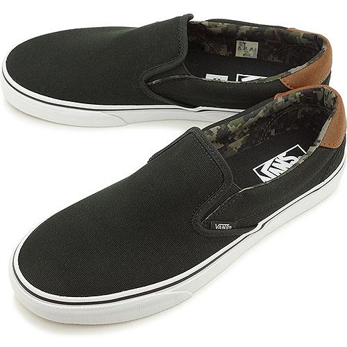 d850c08a76 VANS vans sneakers men gap Dis CLASSICS SLIP-ON 59 classical music slip-on  59 (C L) BLACK CAMO (VN-0SFOEOZ FW14) shoetime