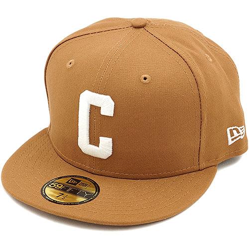 a1c3523485714 NEW ERA new era Cap 59FIFTY CARHARTT C LOGO Carhartt C logo DK TAN (  N0022268 FW14 ) /NEWERA