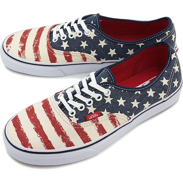 VANS vans sneakers men gap Dis CLASSICS AUTHENTIC classical music authentic  (AMERICANA) DRESS BLUES (VN-00AIGYD FW15) shoetime f6eb56dc1