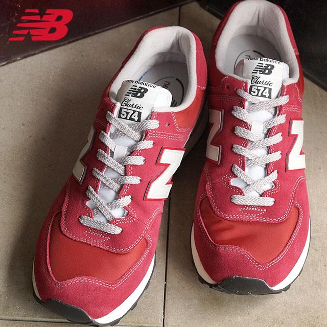a6f4a4339d newBalance new balance mens Womens sneakers ML574 D wise BURGUNDY (ML574VBU  FW15)