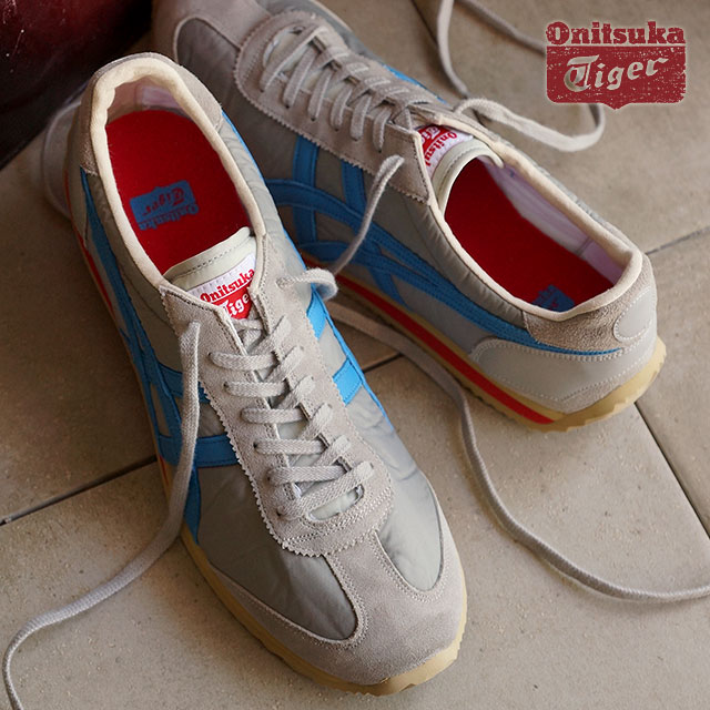 Onitsuka Tiger ONITSUKA Tiger mens Womens sneakers CALIFORNIA 78 VIN California  78 vintage soft grey  blue Aster (TH 110N-1047 FW15)