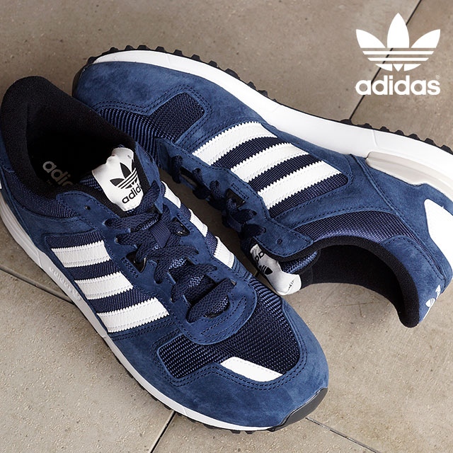 adidas Originals ZX 700 Collegiate Navy White Pearl Grey B24839