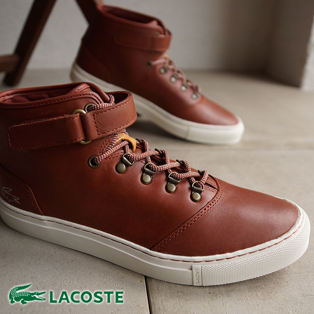 db9f353f7 LACOSTE Lacoste men sneakers CERBERUS STEPS サーベラスステップ D.RED (M3261T-QA1  FW14) shoetime