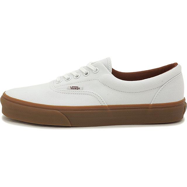348c622cf6 VANS vans sneakers men gap Dis CLASSICS ERA classical music gills (GUMSOLE) TRUE  WHITE MEDIUM GUM (VN-018FGID FW15) shoetime