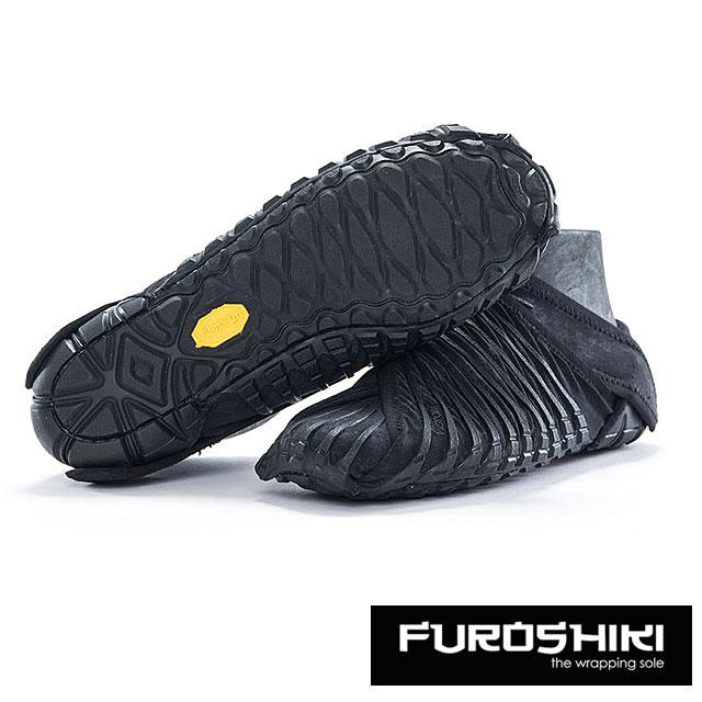 【月間優良ショップ】FUROSHIKI shoes フロシキ シューズ 靴 メンズ レディース FUROSHIKI Black (15UAC06)【コンビニ受取対応商品】