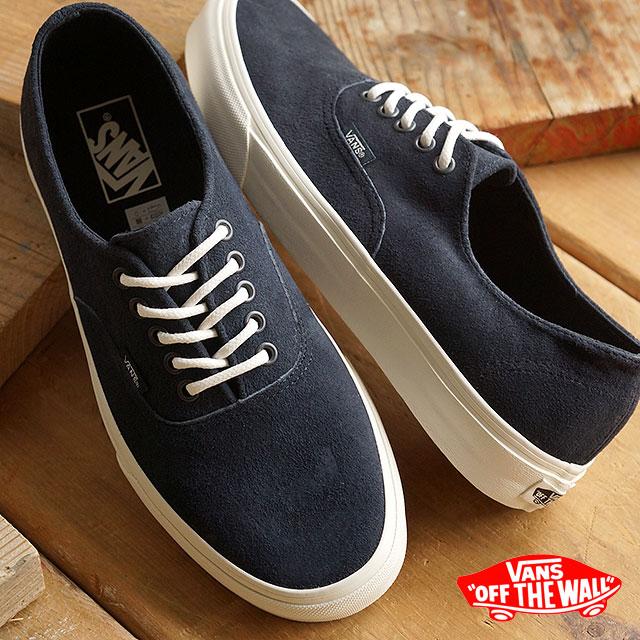 VANS vans sneakers men gap Dis CLASSICS AUTHENTIC DECON クラシックスオーセンティックデコン ( SCOTCHGARD) BLUE GRAPHITE (VN-018CGKV FW15) shoetime 2519f7775