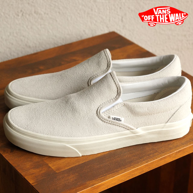 add42ff708c050 VANS vans sneakers men gap Dis slip-ons CLASSICS CLASSIC SLIP-ON classical  music classical music slip-on (VINTAGE) TRUE WHITE BLANC (VN-018DGXW FW15)  ...