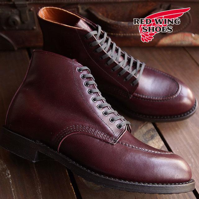 【返品サイズ交換可】レッドウィング ジラード ブーツ メンズ レディース REDWING 9091 Girard Boot Black Cherry Featherstone【コンビニ受取対応商品】