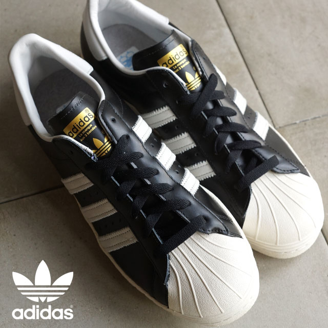 promo code 01455 f16db adidas Originals Adidas originals sneakers SUPERSTAR 80s VINTAGE DX  superstar 80s vintage deluxe core black / vintage white S15/ off-white  (S74935 ...