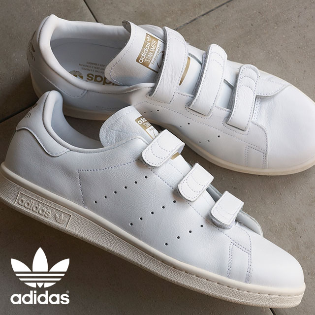 4104c74ce97 Japan Limited Edition adidas adidas originals sneakers STAN SMITH CF TF Stan  comfort white   white   gold (AQ5357 FW15)