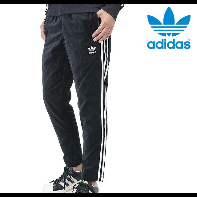 即納 日本限定 adidas Originals アディダス オリジナルス ジャージ SS VELOUR TRACK PANTS ベロア パンツ ブラック ブラック ホワイトAO3567 FW15bpshoetime8wvn0ONm