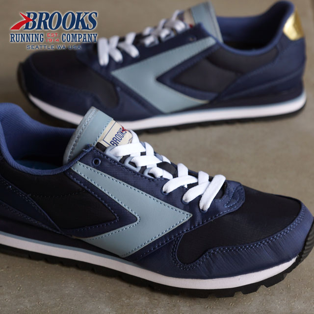 17ed6417e40 BROOKS Brooks sneakers CHARIOT MNS HERITAGE chariot heritage men True Navy  (1101781D-467 FW15) shoetime