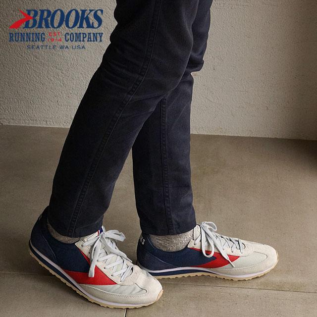 41a518c09c8 BROOKS Brooks sneakers Vanguard MNS HERITAGE vanguard heritage men Glacier  Grey (1101661D-922 FW15) shoetime