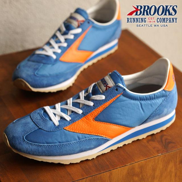 0a2fd1dad5f BROOKS Brooks sneakers Vanguard MNS HERITAGE vanguard heritage men Royal  Blue (1101661D-488) shoetime