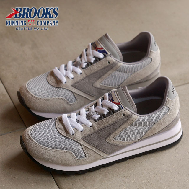 05a3d15eb9d BROOKS Brooks sneakers shoes CHARIOT WMN HERITAGE chariot heritage Lady s  Athletic Grey (1201711B-205)