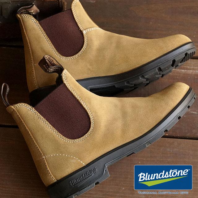 【即納】Blundstone ブランドストーン サイドゴアブーツ BS1456 スウェードレザー サンド 靴 (BS1456223)