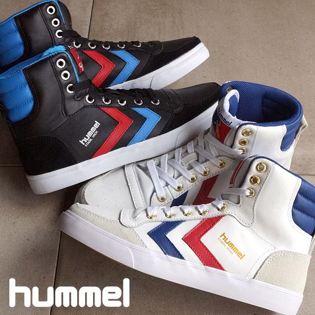 hummel ヒュンメル スニーカー 靴 メンズ レディース STADIL HIGH スタディール ハイ (HM63066)【コンビニ受取対応商品】