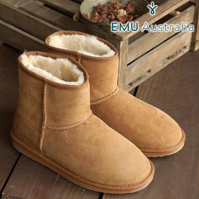 najtańszy Nowy Jork wyprzedaż emu emu sheepskin boots STINGER MINI stinger mini-CHESTNUT shoes (W10003  FW15) / emu boots regular article