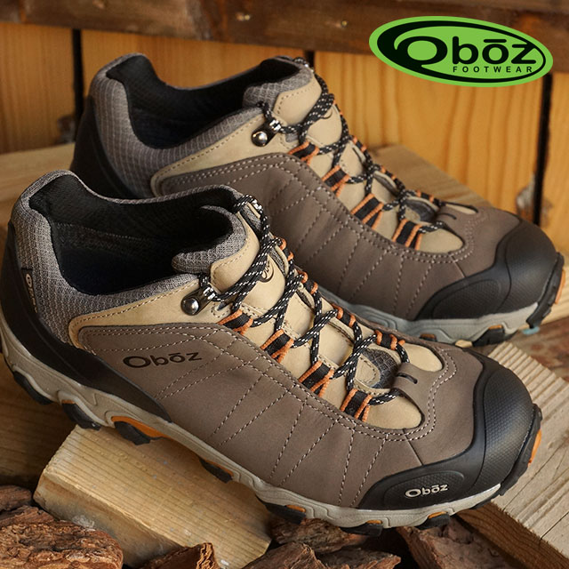 df60429753c Oboz OBS men's trekking Shoes Sneakers MENS BRIDGER LOW BDRY bridge low  Walnut (OB00022701WLNT FW15)